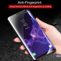 CAFELE Hydrogel Samsung S8 S8 Plus 3D FULL COVER BUKAN TEMPERED GLASS