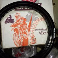 VELG TK RACING JAPAN 350 18 BLACK ring 10 12 13 14 15 16 17 18 19 21tk