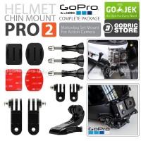 Helmet Chin Mount PRO2 Helm Bike Motovlog for GoPro Xiaomi Yi BRICA