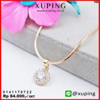 XUPING KALUNG SET BANDUL BULAT EMAS ZIRCON 0141170722