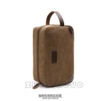 Handbag Kanvas Mugu Import - Zou Lun Duo 6041 Merah - Tas Tangan Pria