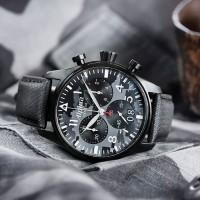 Jam Pria US - Ori 100% Alpina Startimer Pilot Big Date Quartz Watch