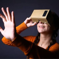 VR CARDBOARD GLASSES / kacamata virtual reality kardus replika google