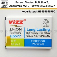 Baterai Vizz Double Power Original Modem Huawei Mifi E5573 E5577 Batre