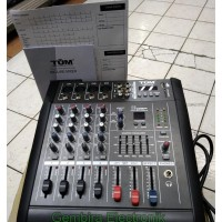 power mixer 4 channel Tum pmx402d power audio mixer 4 ch tum pmx 402d