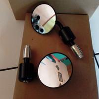 spion bar end jalu stang mirror aksesoris motor vespa metic universal