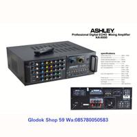 AMPLIFIER MIXING ASHLEY KA-6500 PROFESSIONAL DIGITAL ECHO KARAOKE NEW