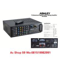 AMPLIFIER MIXING ASHLEY KA-6500 PROFESSI0NAL DIGITAL ECHO KARAOKE NEW