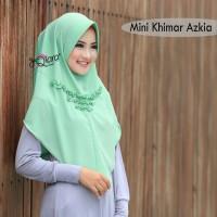 Hijab Jilbab Kerudung Instan Khimar Mini Azkia by Dqiara