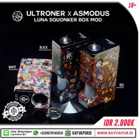 Luna Squonker Box Mod By Asmodus & Ultroner