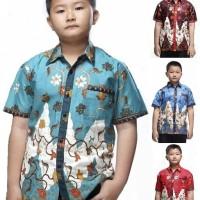Kemeja / Hem / Atasan / Baju / Anak Laki Laki Batik 1938