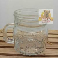 Gelas Drinking Jar Mug ( Mason ) : 260ml / Gelas Harvest / Gelas Minum