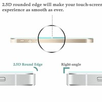 Tempered Glass 2.5D iPhone 5 5G 5S 5SE Anti Gores Kaca