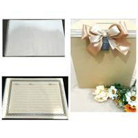 Kotak Angpao. Favour Wedding Box. FREE aksesoris. FREE Guest Book
