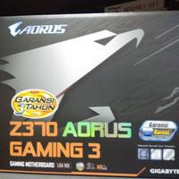 GIGABYTE Z370 Aorus Gaming 3 (LGA 1151,Z370,DDR4) Coffee Lake