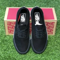 Sepatu vans Authentic mono bumper hitam putih sneakers casual premium