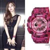 Jam Tangan Wanita Casio Baby-G BA-110LP Pink Leopard Ori (bm)