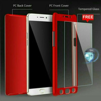 XIAOMI REDMI 5+ PLUS IPAKY 360 FULL COVER FREE TEMPERED GLASS BACK CAS
