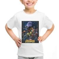 Kaos Baju Tshirt Thanos Anak Avengers Infinty War Putih