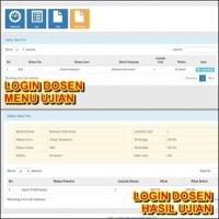 Sistem Aplikasi Ujian Online (CAT) Web / Tes / Computer / Komputer