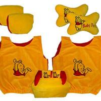 Bantal Mobil 5 in 1 Car set lengkap motif winnie the pooh