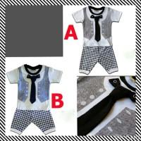 Baju Bayi Laki Laki Ozuka Baby Setelan Baju Kondangan Bayi Dasi