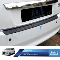 Datsun Go+ Sillplate Belakang Hitam JSL / Rear Scuff Plate Black
