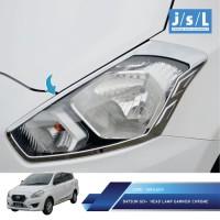 Datsun Go+ Garnish Lampu Depan JSL Krom / Head Lamp Garnish Chrome