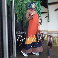 Kiara dress by gagil /gamis balotelli/Muslim Wanita/Baju Murah/gamis