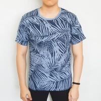 Tropical biru muda tua kaos tshirt tee t-shirt pria lelaki laki cowok