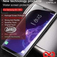 Tempered Glass Samsung S9 S9+ Plus 3D Full coverage HD Hydrogel Film