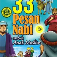 Buku 33 Pesan Nabi Untuk Anak Muslim (Free Tasbih Digital)