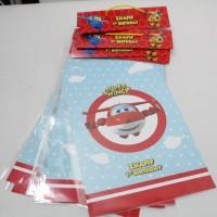 Plastik snack superwings / plastik bingkisan ultah Superwings