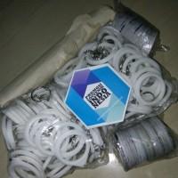 Bahan Baku Gantungan Kunci pin Miror / Kaca uk. diameter 44 mm