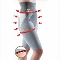 Far Infrared Tourmaline Bamboo Slimming High Waist Short Legging