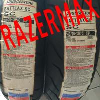 Ban Battlax SC Nmax 120/70*13 + 140/70*13..
