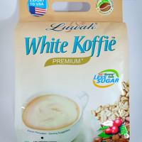 LUWAK WHITE KOFFIE PREMIUM Less Sugar 20'S 400g