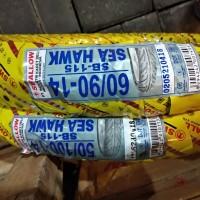 Paket 50/100 14 - 60/90 14 Ban luar + dalam motor Swallow SEA HAWK