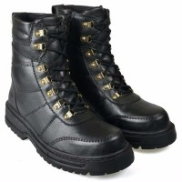 baru sepatu boot pria boots safety shoes kulit sepatu docmart bikers