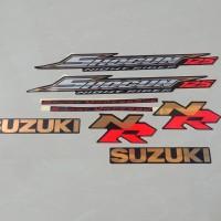 Stiker Bodi & Lis Body & Striping Shogun 125 NR