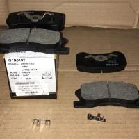 Brake pad Datsun GO dpn G1N018T Aisin -71394