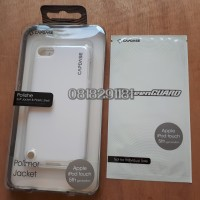 CAPDASE Polimor Jacket IPOD Touch 5TH Generation White Original + AG