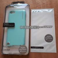 CAPDASE Polimor Jacket IPOD Touch 5TH Generation Blue Original + AG