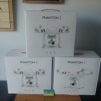 Dji phantom 3 standard drone baru & segel garansi