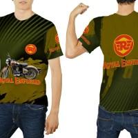 Kaos Baju T-Shirt Fullprint Custom Royal Enfield 01