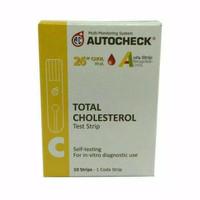 Autochek Strip Cholestrol isi 10 pcs