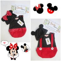 (Dijamin) Baju Bayi Karakter Disney Mickey Minnie