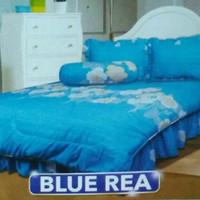 New Bad Cover My Love Motif Blue Rea Size King No.1 Uk 180cmX200cm