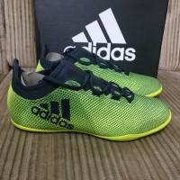 Sepatu Futsal Adidas X Tango 17.3 In CG3717 Yellow Black Original