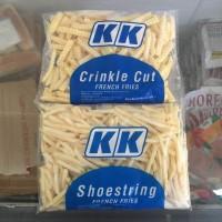 KK French Fries Kentang Beku Crincle Cut1kg